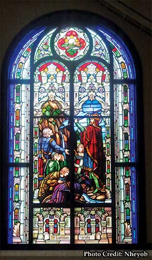 Saint John Neumann Church Sunbury Oh Parrett Windows