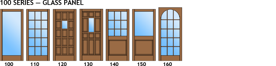 choice of bifold door shapes
