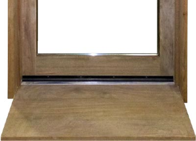ipe lumber species wood door sill