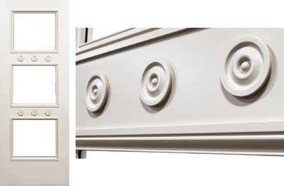 custom door trim profile design