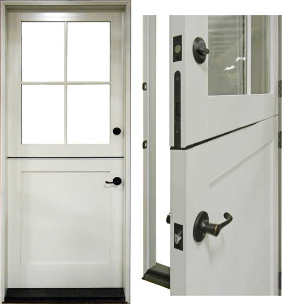 custom dutch door system