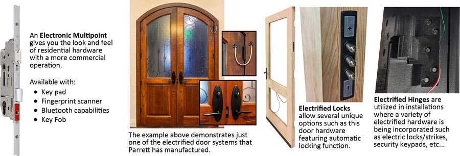 electrified door choices
