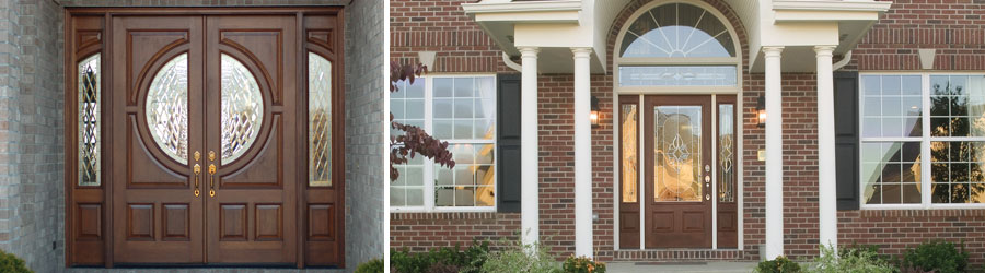 the entrance to your home speaks volumes make a statement with stunning entry door system from parrett using computer aided design technology front doors