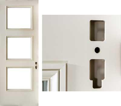 custom hardware machined door