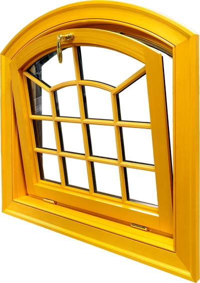 view of a hopper window