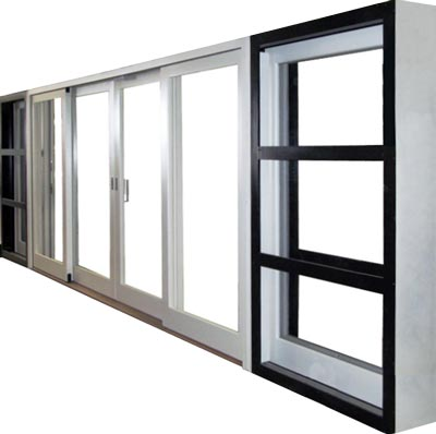 view of a pocket lift and slide door