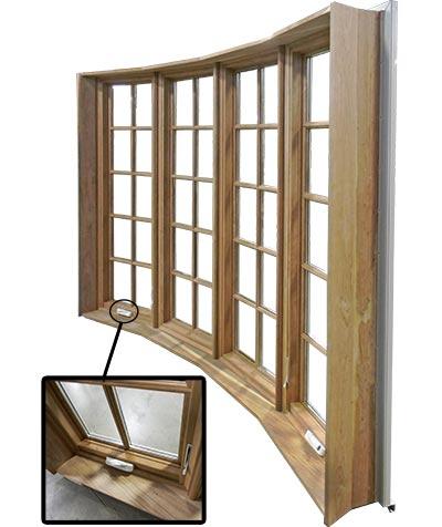 bay bow window