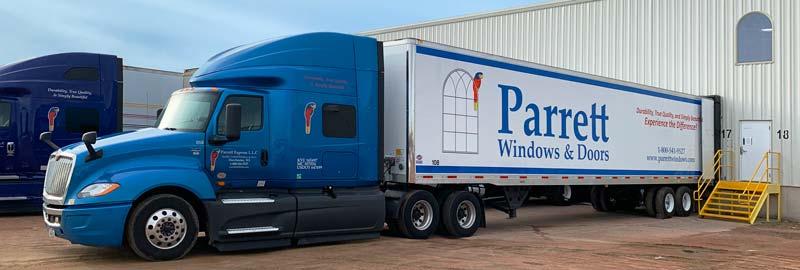 parrott express llc semi truck and trailer