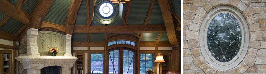 Pivot Circle   Oval Window   Parrett Windows & Doors