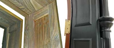 profiled door jambs