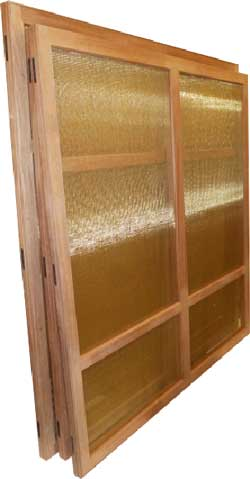Removable Screen Panels