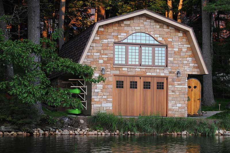 residential-northwoods-boathouse-(6) & Northwoods Cabin Boathouse | Parrett Windows u0026 Doors