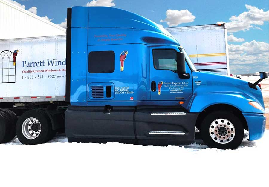 Semi Tractor-Trailer Class A CDL Driving Position