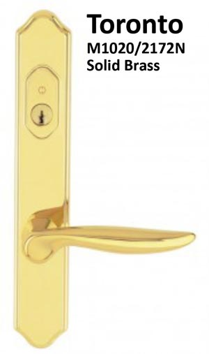 multipoint locking handleset styles