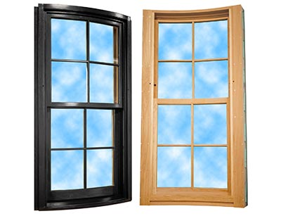 Curved Hung Window