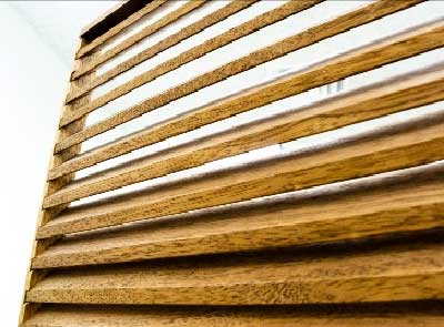 wood louvers